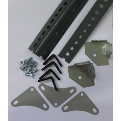 Dexion Slotted Angle Corner Plate