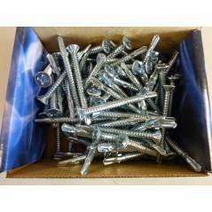 Mezzanine Floor/Winged/Decking Board/Woods Screws, Fixings - Pack of 100