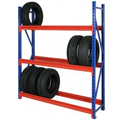 Longspan Tyre Racking Levels