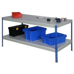 Boltless Worktable - Melamine Top