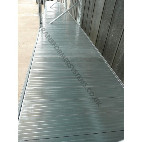 Galvanised Shelf Levels