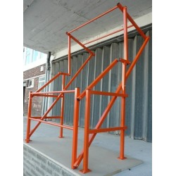 High Mezzanine Floor Pallet Gate