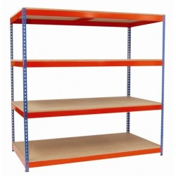 Strong Rivet Shelving