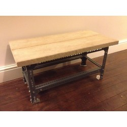 Dexion Slotted Angle Coffee Table