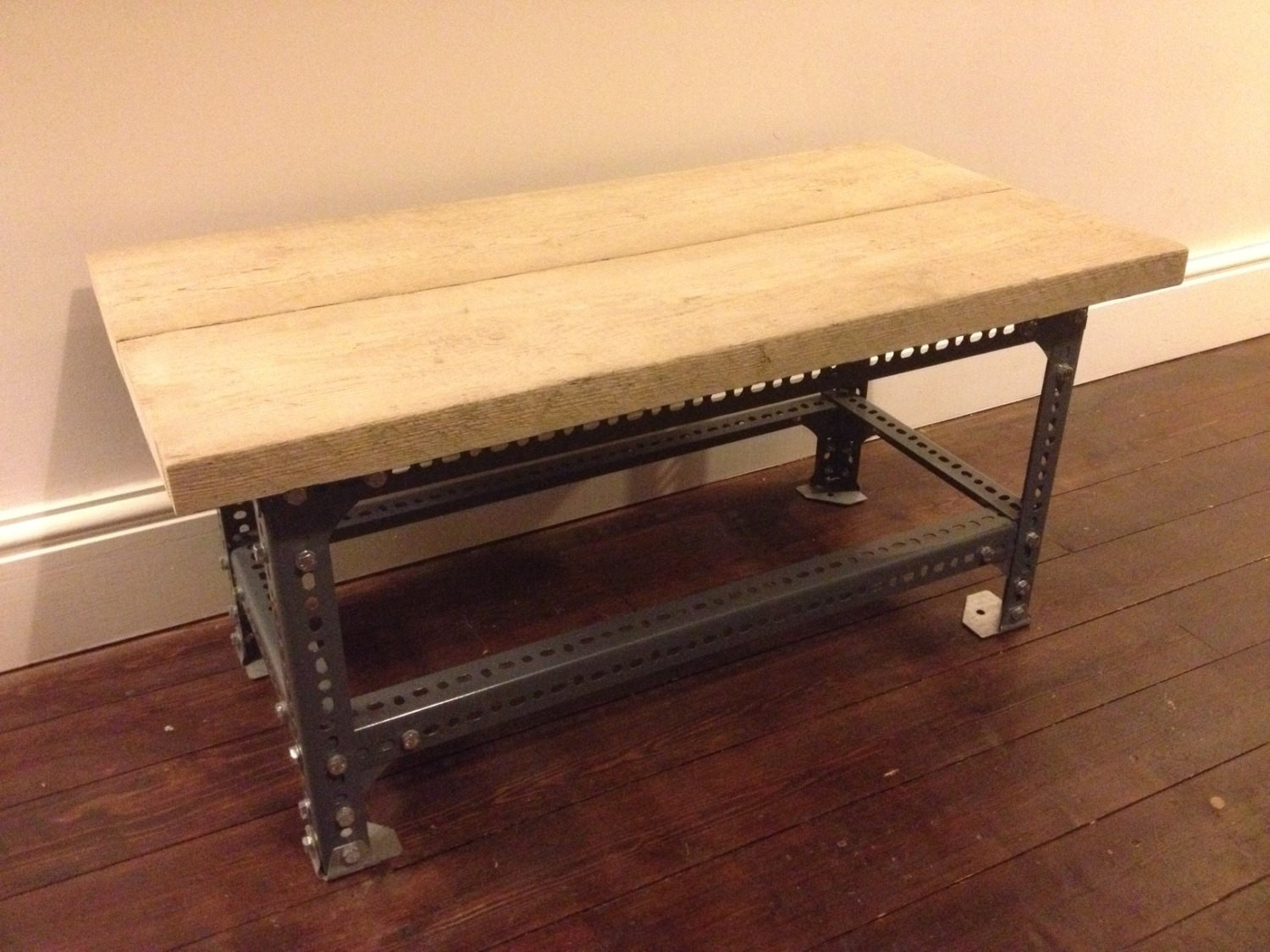 Dexion Slotted Angle Coffee Table (STEELWORK ONLY)