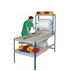 Long Rivet Rack Packing Bench