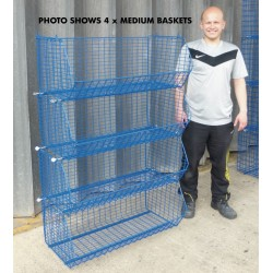 Medium Wire Warehouse Baskets