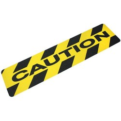 Anti-slip CAUTION sign 1520 x 610mm