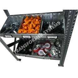 Galvanised Modular Bin Levels - Suit SH030