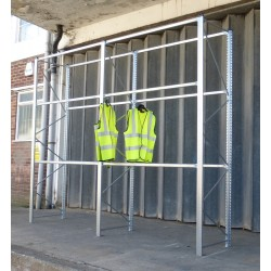 SH030 - Galvanised Hanging Garment Racking