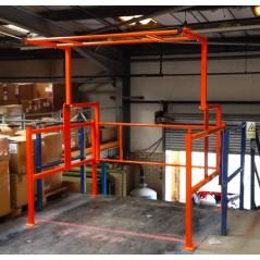 Standard Mezzanine Floor Pallet Gate